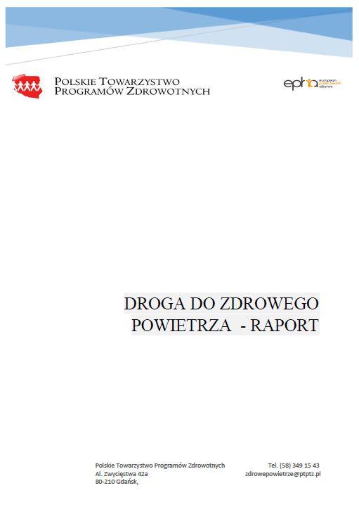 Droga do zdrowego powietrza - Raport PTPZ 2020